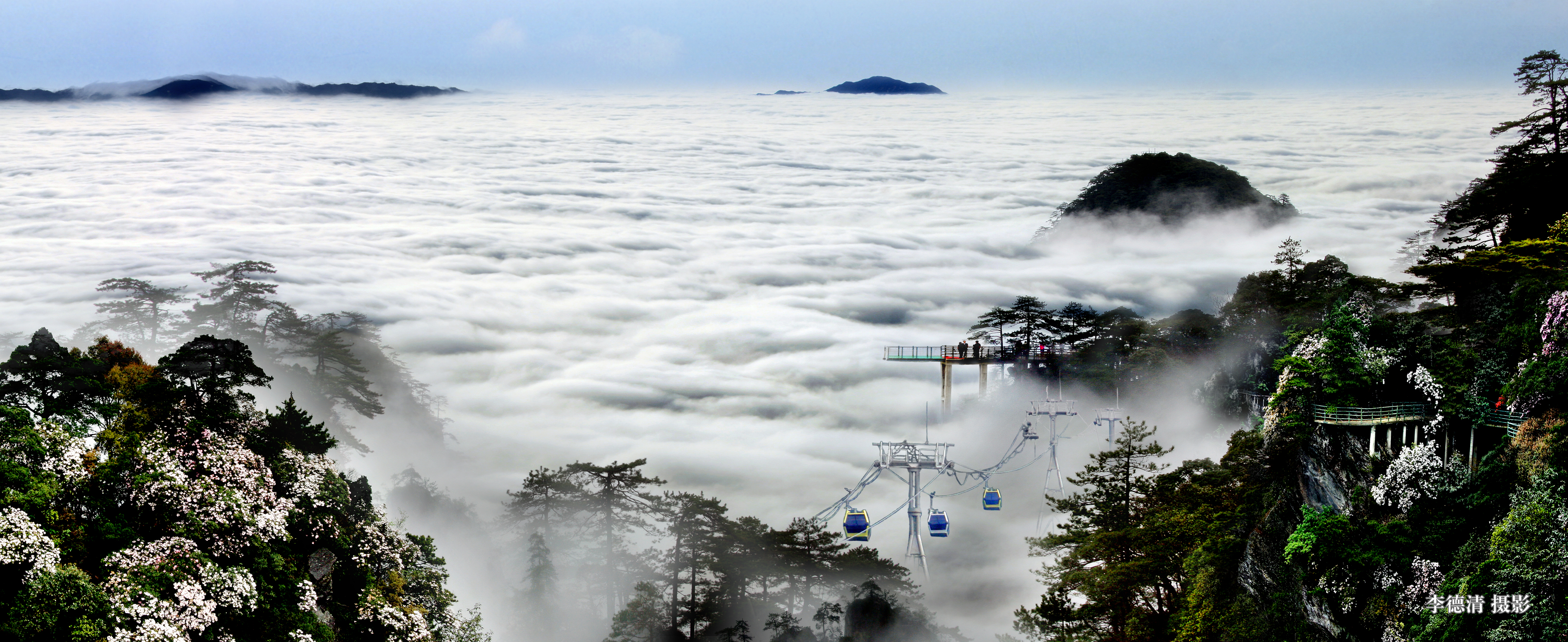 井冈山风景区五一人气创新高