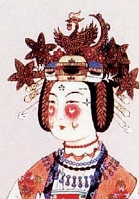 古代女子妆容--妆靥