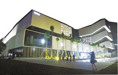 从建筑形体上来讲,珠海博物馆和珠海城市规划展览馆一个讲述珠海的图片