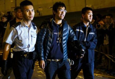 香港学联秘书长周永康被拘捕