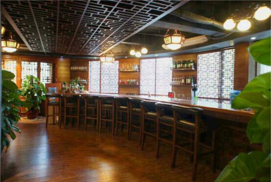 茶社吧台装修图片
