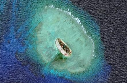 南海被占岛礁:机场扩大