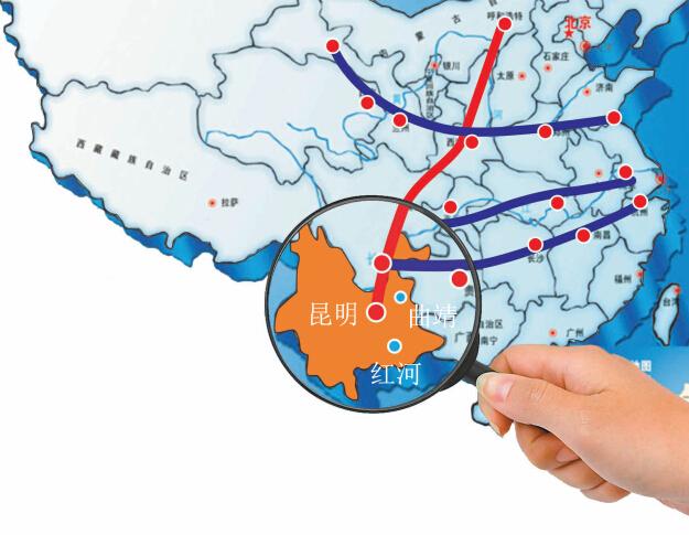 大通道节点城市建设,对云南产业结构的升级和优化将