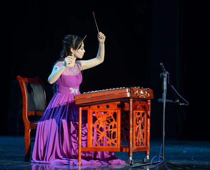 金芦笙 中国民族器乐大赛在黔凯里落幕