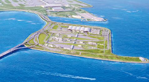 香港新机场 二期 填海