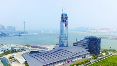 珠海国际会展中心.王荣 摄