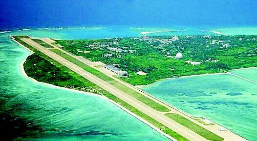 英媒称中国南海岛礁机场建设完工