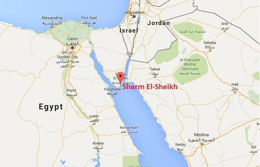 西奈半岛位置图。西奈半岛位置图。   据俄罗斯媒体10月31日说,一架从埃及飞往俄罗斯圣彼得堡的俄罗斯客机失联。中新网消息称,这架客机在埃及坠毁,机上载有220多人。   央视新闻援引俄新社报道称,机上有217名乘客,7名机组成员。飞机起飞后23分钟失联。   另据卫星网报道,俄罗斯联邦航空运输局的消息人士对俄新社称,搭载包括机组人员在内的224人、执飞从沙姆沙伊赫至圣彼得堡航班的科加雷姆(Kogalymavia)航空公司的空客321飞机于周六早上在塞浦路斯地区从雷达屏幕上消失。   路透社报道,埃