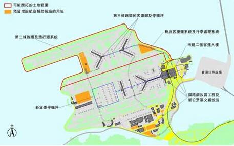 香港机场第三跑道填海工程获批准