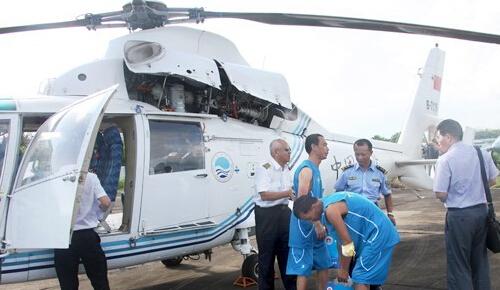 中国海监飞机失事致4死