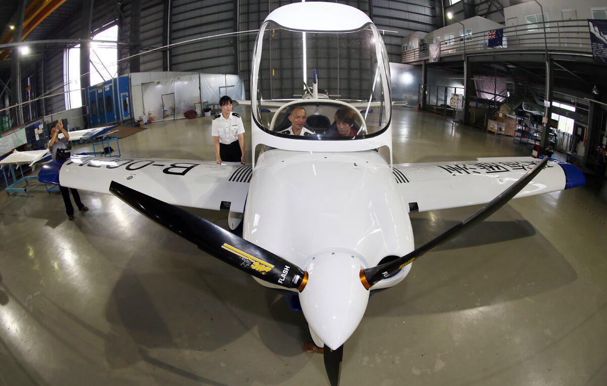 珠海海卫科技有限公司制造的轻型运动类飞机