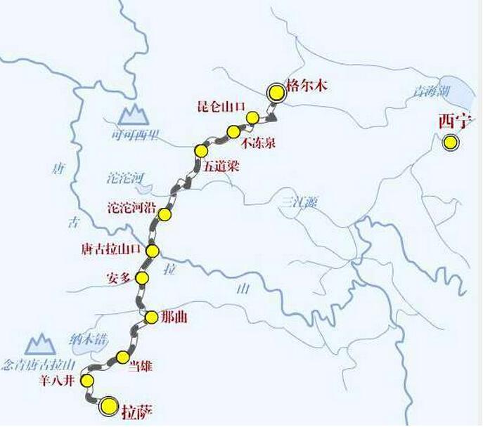 青藏铁路格尔木-拉萨段启动扩能改造