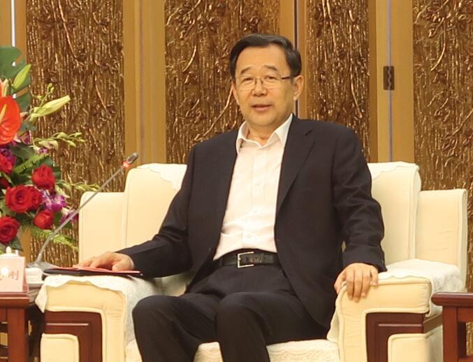 贵州省长孙志刚接见到访一行