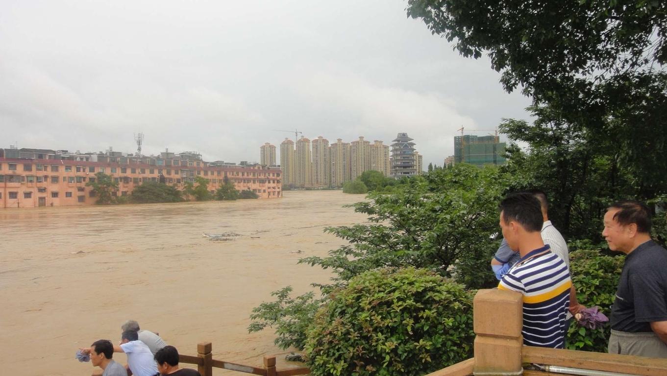 遇60年来最严重自然灾害 湘宁乡洪灾44死亡失联