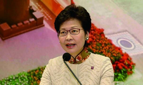 行政长官林郑月娥:港府应学新加坡积极有为图片