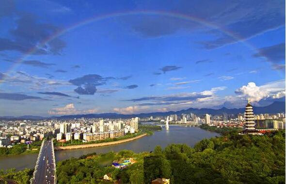 江西:明年11个设区市将全部建成国家森林城市图片