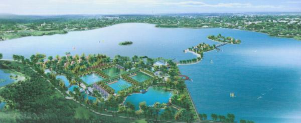 日前,记者一行走进长沙千龙湖生态旅游度假区,感受了这里的原生态的