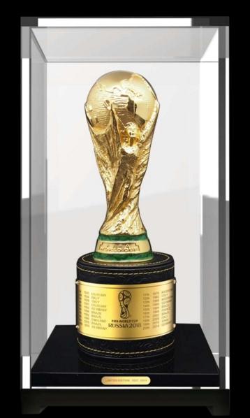 2018年俄罗斯世界杯决赛奖杯——大力神杯