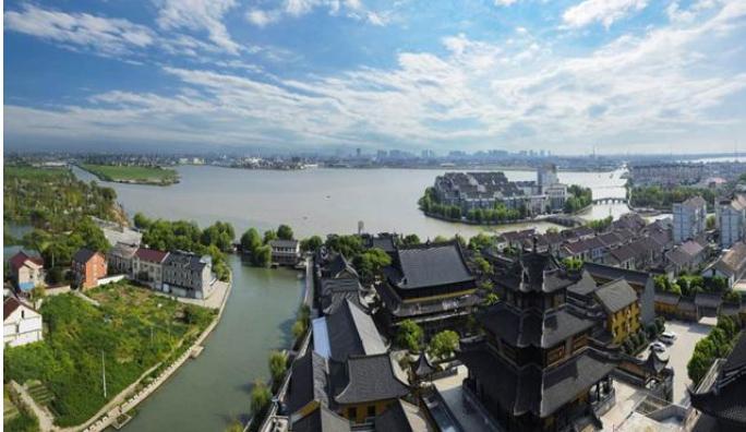 6公顷,连结长江三角洲中江苏的苏州,无锡,常州地区和浙江省的杭州