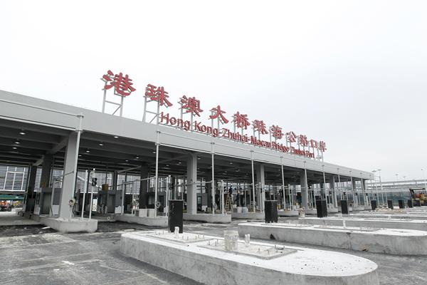 港珠澳大桥珠海公路口岸通关设备进场安装-香港商报