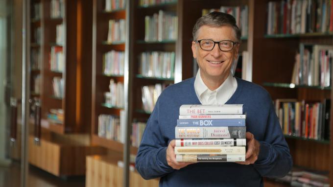 比尔 盖茨的年度好书,2018年他推荐了哪几本图片
