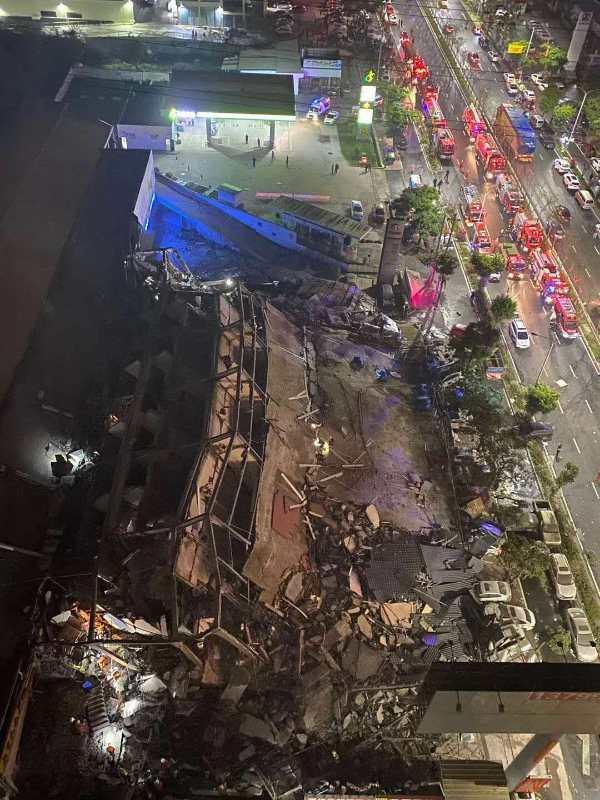 突發!福建泉州一酒店坍塌 為新冠肺炎醫學觀察點