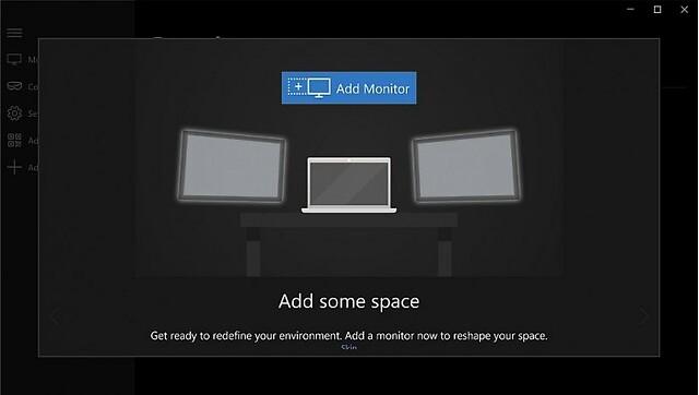 微软推出HoloScreens应用:在虚拟世界中实现多显示器交互
