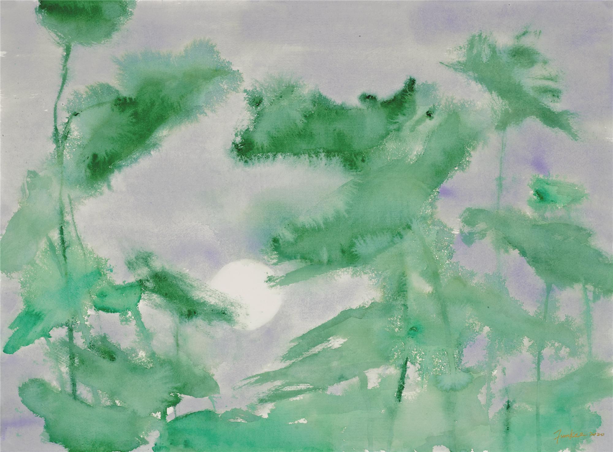 【艺术】收藏「琪」观:荷风抱月