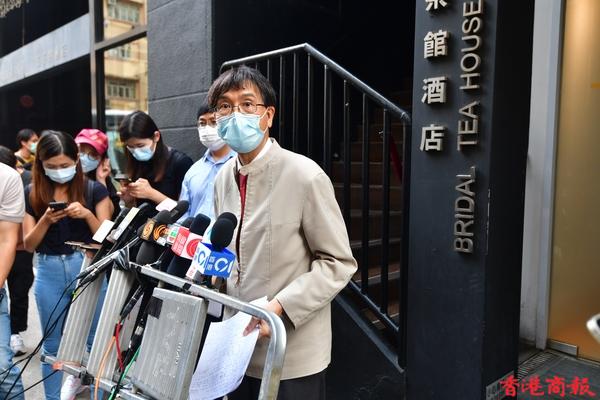 袁國勇調查清潔女工確診個案:酒店房間消毒程序極不理想