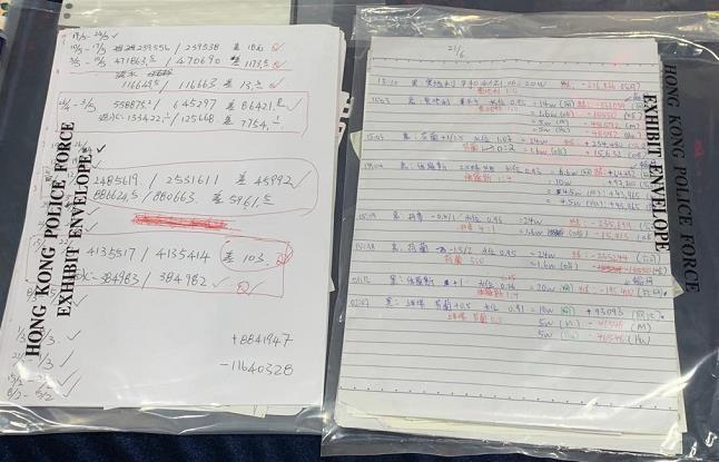 警方打擊非法賭博 拘3人檢約1000萬現金