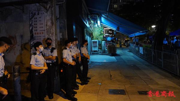 黃大仙金鳳街1至3號列受限區域須強檢 料明早7時完成