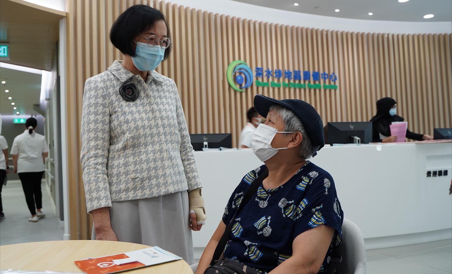 陳肇始:本屆政府將增建5個地區康健中心