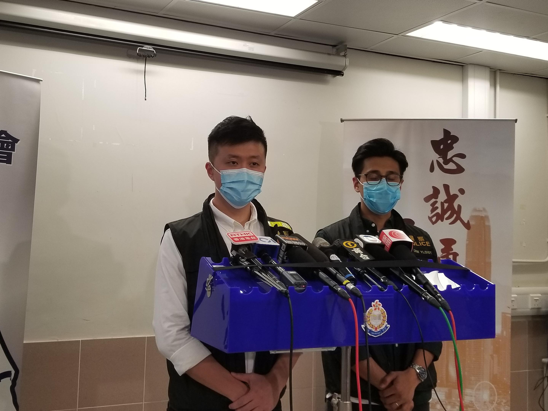 涉嫌刑事恐嚇 元朗區議員何惠彬被捕