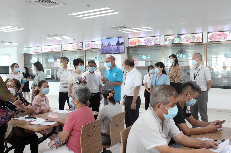 工聯會暖心服務行動再啟航 助居粵數百港人接種疫苗