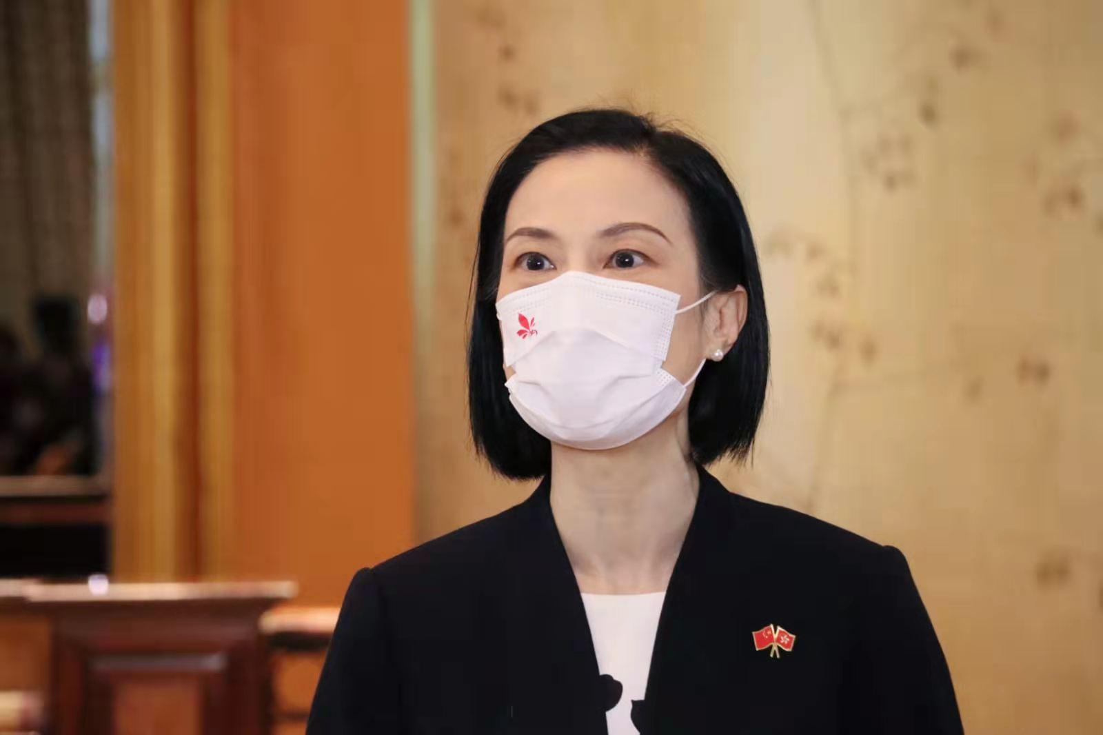 林鄭:中央對本港管治者充滿期盼 冀做好三場選舉候選人資格審查把關