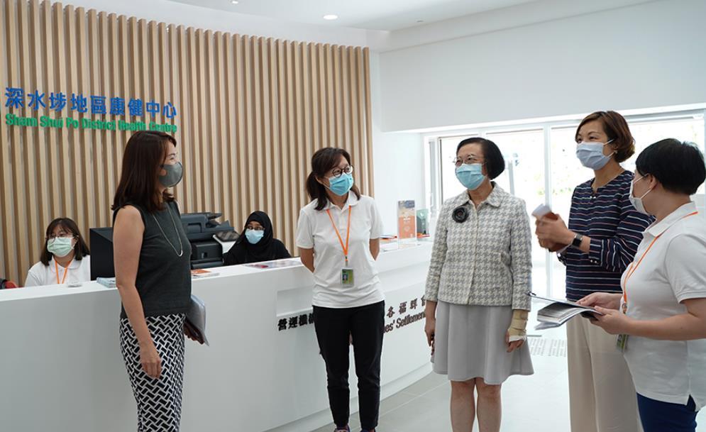 陳肇始:任期內再建5個地區康健中心 第三季投入服務