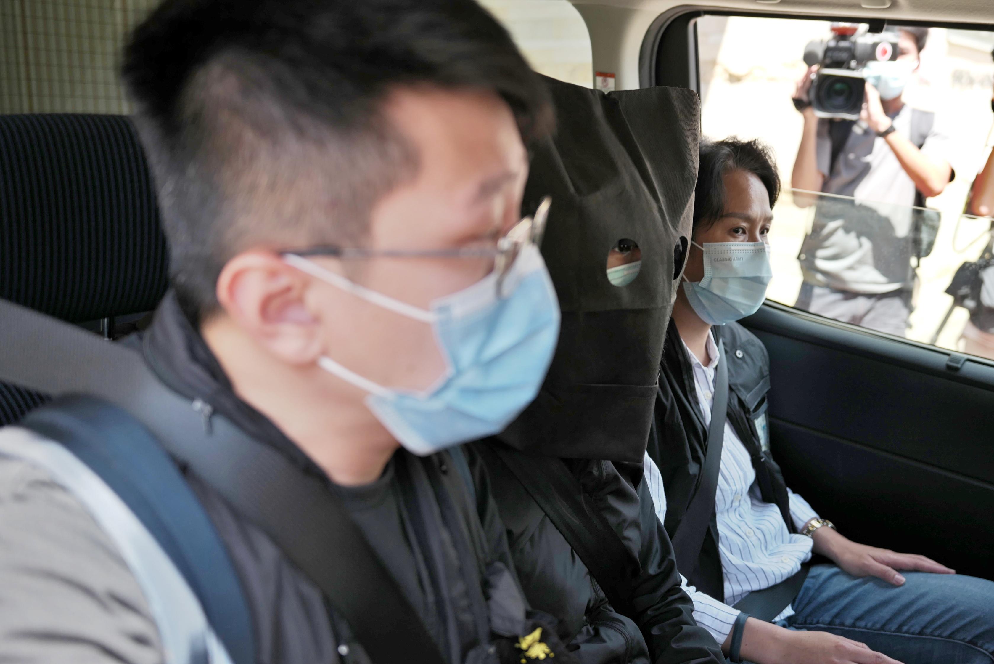 有片   涉串謀發布煽動刊物 國安處拘捕五人