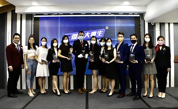 城市青年商會公布首屆「傑出大專生選舉」得獎名單