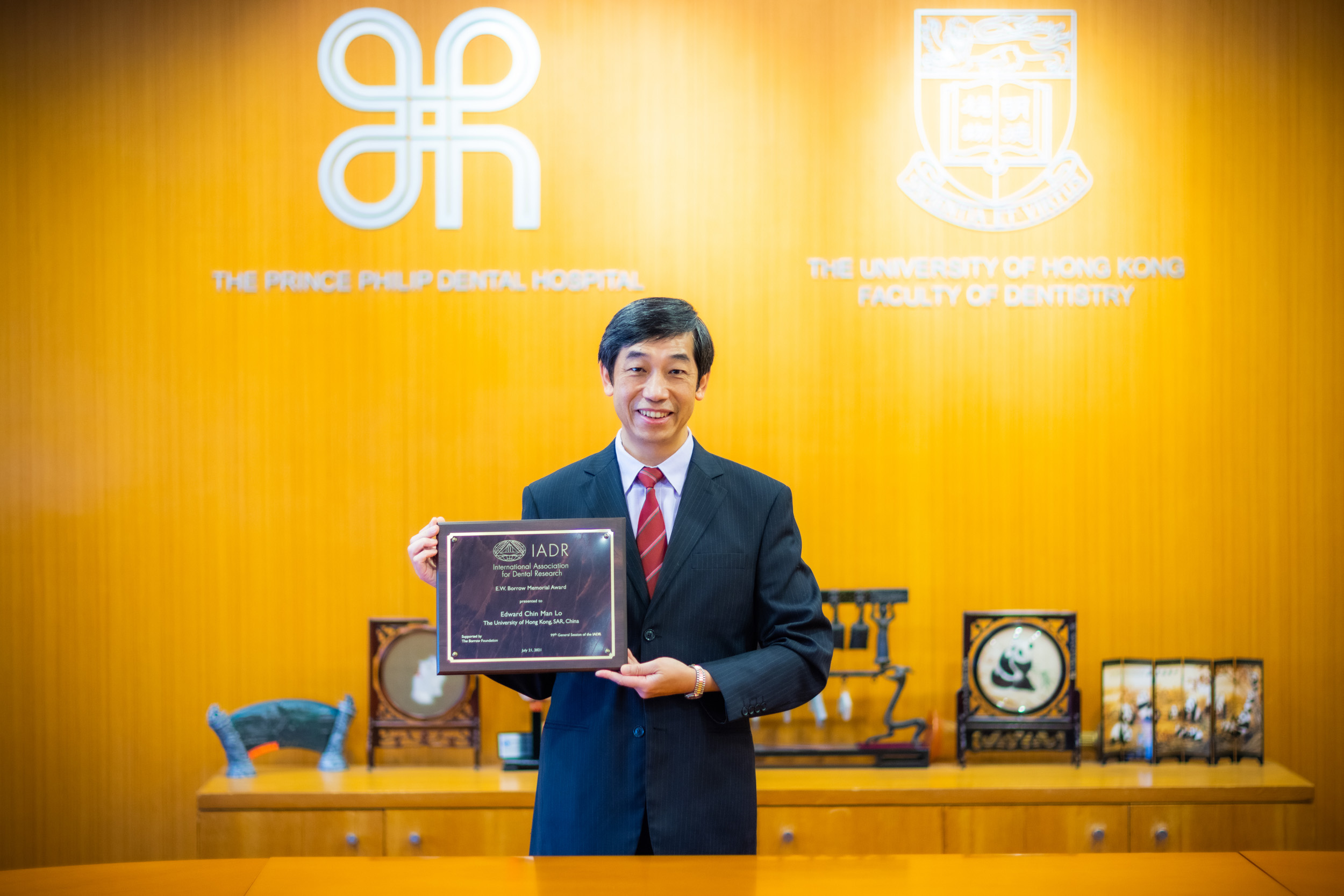 多位港大牙醫學院學者獲國際牙科研究協會頒授科研獎項