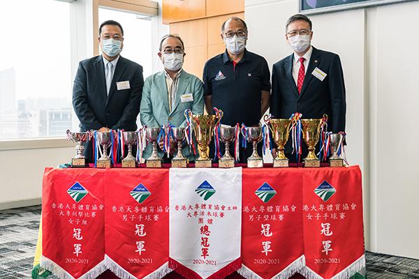 理大運動代表隊蟬聯3屆大專盃大滿貫