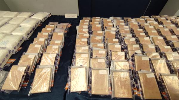 警方檢獲總值7600萬元海洛英毒品 拘捕1人