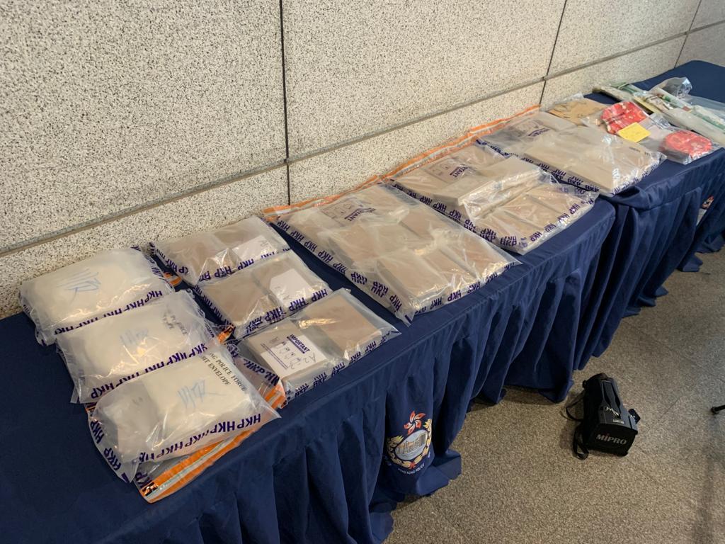 警方檢值逾1600萬元毒品 拘捕一名男子