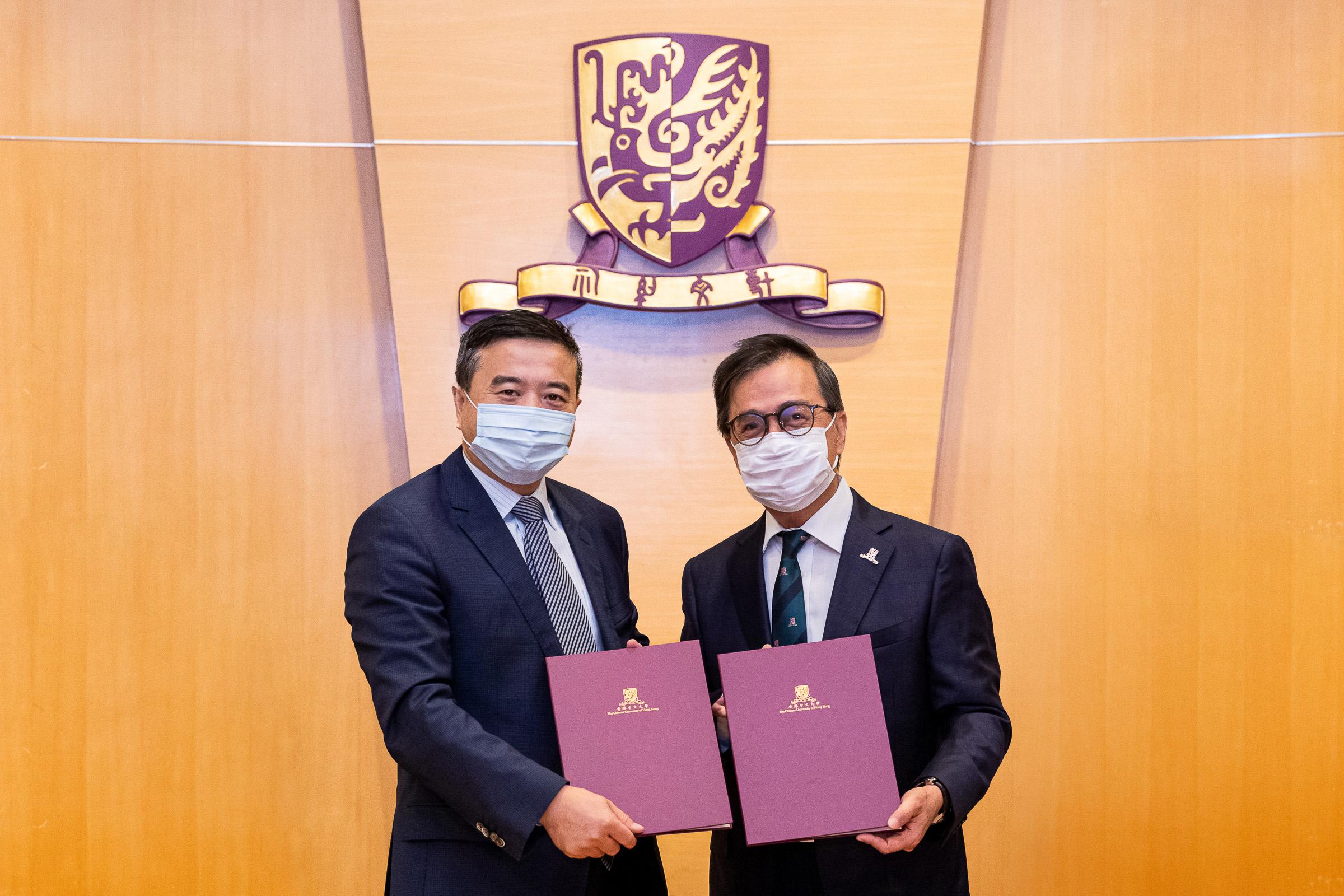 中大與華潤創業簽合作框架協議 投放2億推動再生醫學