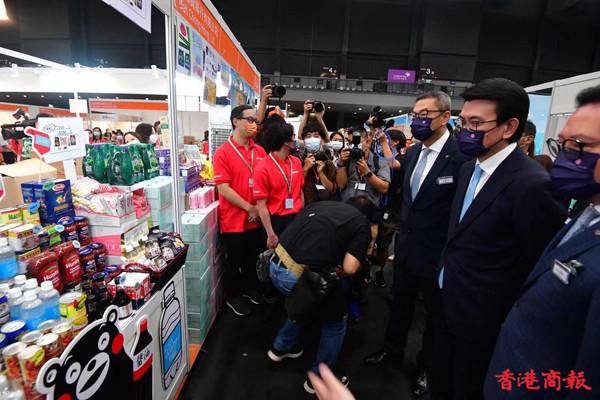 2021工展會購物節今開幕 邱騰華:市民可安心購物