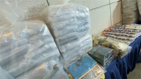 警方打擊販毒 檢獲76公斤大麻花