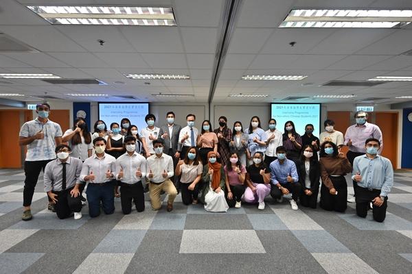35名非華裔學生獲派政府部門實習 聶德權鼓勵他們裝備自己迎接挑戰