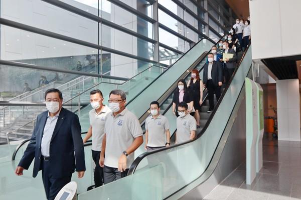 查毅超等17人報名參選選委會工業界(第一)組別