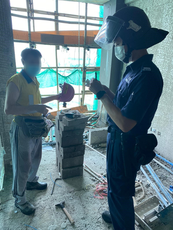 入境處展開反非法勞工行動 拘捕10人