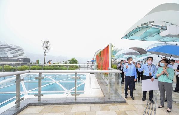 林鄭:啟德體育園為政府超大型投資 落成後可主辦更多國際賽事