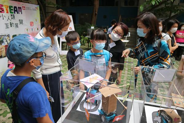 聖雅各福群會「智STEAM小人類」計劃舉行互動展覽